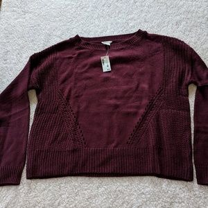 Aeropostale cable knit sweater - nwt